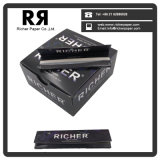 Ultra Thin Rizla quality Rolling PAPER tuxedo with solenoid seal