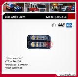 Três módulos de LEDs de montagem saliente Lighthead Aviso (LTDG41B)