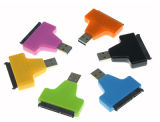USB 3.0 à 2.5  Disque dur SATA III câble adaptateur W/ Uasp - SATA de convertisseur USB 3.0 pour les SSD/HDD - Câble adaptateur de disque dur