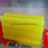 Fragranza bianca, sapone del limone di lavanderia giallo dei vestiti