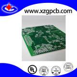 Doppelseitiger Schaltkarte-Vorstand mit dunkelgrüner Lötmittel-Schablone