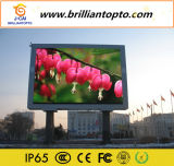 Sinais eletrônicos de LED de publicidade exterior