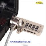 Serratura del cavo del computer portatile di prezzi di fabbrica con la serratura chiave del computer portatile