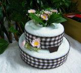 使用のための小さいギフトのケーキタオル
