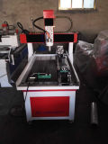Houten MDF van het Triplex CNC van het Metaal Router met Roterende As 4
