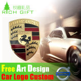 Embalagem Custom Custom Chrome Emblem Lapel com logotipo do carro