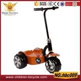 La parte superior popular de tres ruedas y freno de pie bebé Scooters