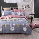 Gebildet im China-Großverkauf-Fertigung-Karikatur-Baumwollduvet-Deckel-Bett-Blatt
