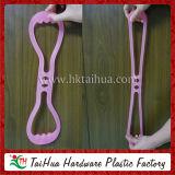 La salubrità fornisce la corda di forma fisica del silicone, corda di tiro elastica di forma fisica del silicone di esercitazione