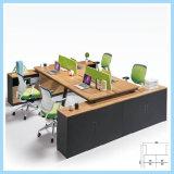 최신 지원실 가구 테이블은 나무로 되는 사무실 테이블을 디자인한다
