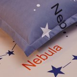 La maison de mode fournit le linge de lit de literie de polyester de créateur