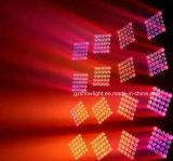 CREE 25*12W luz LED de matriz 4 em 1 LED RGBW Feixe de movimentação de iluminação de palco
