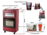 Riscaldatore a gas ed elettrico con il bruciatore infrarosso di ceramica