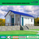 Villa préfabriquée de Chambre extensible préfabriquée de conteneur de chantier de construction de coût bas