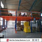 Depósito de aço laminado a frio de aço da China Prateleira de mezanino de armazenamento