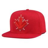 Al aire libre mayorista personalizado Snapback poliéster Negro Hat Hip-Hop Snapback Hat
