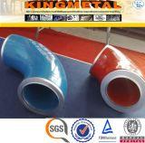 ASTM A105 3000lbs Kohlenstoffstahl-Rohrfittings 90 Grad-Krümmer