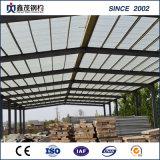 Structure en acier préfabriqués Earthquake-Proof entrepôt avec grue