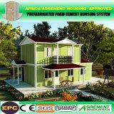 El envase desmontable contiene la casa prefabricada de acero del envase del hogar los 20FT