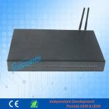 16 GSM PBX 인터콤 4 CO 라인 Extenisons Matal 덮개 PBX