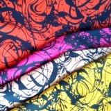 Fabricante de raiom impresso de alimentação para as mulheres de moda do vestuário de malha