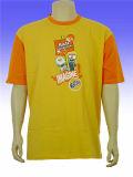 Logo personnalisé imprimé 160gsm promotionnel Coton T-Shirt à manches courtes
