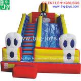 販売(DJWSMD800008)のための跳ね上がりの家が付いている膨脹可能なコンボ水スライド