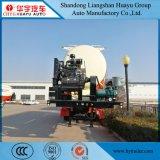 del cemento 35cbm del transporte del petrolero acoplado a granel semi con el compresor de aire del motor diesel del Hf
