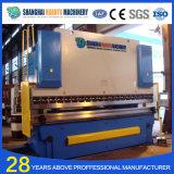 Máquina de dobra hidráulica da folha do ferro do CNC de Wc67y