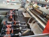 Saco Double-Line Full-Automatic do saco da Quente-Selagem & do t-shirt da Frio-Estaca que faz a máquina