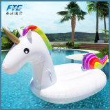 2018 flotadores inflables de la piscina del unicornio del anillo que nadan