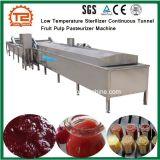 Esterilizador a baixa temperaturaTúnel Contínuo Máquina Pasteurizer polpa de frutos