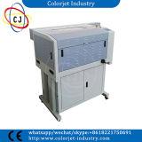 Machine de gravure automatique de laser de découpage d'étiquette d'identification de taille de Cj-4060 A2