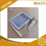 Étalage cosmétique de mémoire de montre de plancher acrylique clair de plexiglass