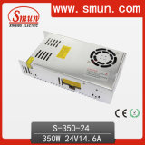 350W 24V 14.5A Enclosed Switching Power Supply mit Cer RoHS