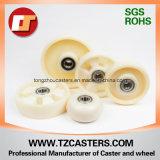 200*50mm de la roue en nylon MC industriel sans nervures