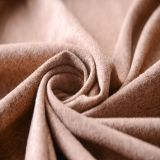 Tela de lino del sofá del color del camello hecha en China