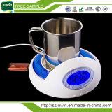 4 Port USB calentador calentador taza de café con el eje