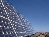 Célula solar de polietileno para desligar o sistema de grade