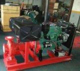 Pompe à eau de moteur diesel d'aspiration de fin de lutte contre l'incendie
