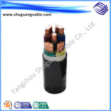 Низкий PVC Insulation Voltage и электричество Cable Sheath Plastic