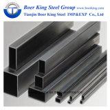 40X40 de cuerpos huecos de acero al carbono, tubo cuadrado negro.