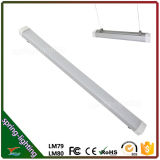 LED Waterproof Tube Tri Proof Light Tube 1200mm 4ft 40W 50W 60W IP65のセリウムRoHS Warehouse Lighting