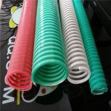 Le PVC souple en plastique coloré Helix ondulé flexible de décharge d'aspiration