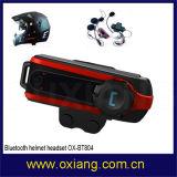 BT-Motorrad-Sturzhelm Bluetooth Wechselsprechanlage-Kopfhörer 800m