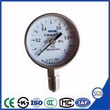 manometro superiore dell'acciaio inossidabile di 100mm Cina