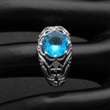 De uitstekende Zwarte Kleurrijke Ringen van het Kristal van Zircon CZ voor Vrouwen