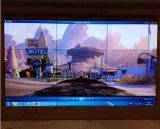 전시 영상 벽을 광고하는 49 인치 좁은 날의 사면 3.5mm LCD