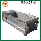 Industrielle Gemüsereinigungs-Gerät U-Form Ingwer-Reinigung-und Schalen-Maschine