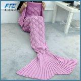 Шерсти кабеля Mermaid Mermaid Blanket для типа крышки софы нового